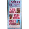 PLAZ DE TOROS DE ARCOS DE LA FTRA. 23 ENERO.94.-