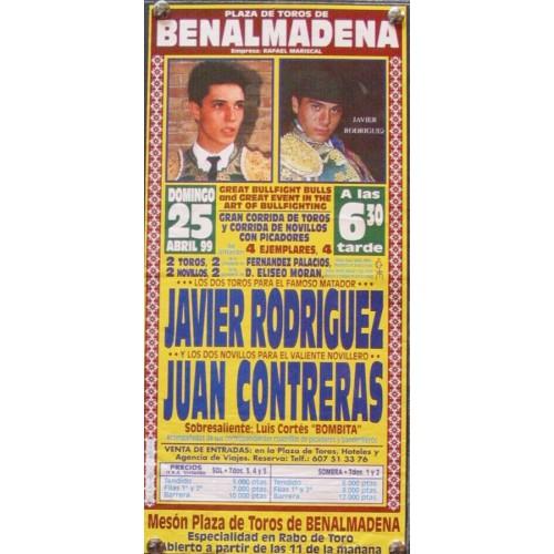 PLAZ DE BENALMAMADENA.- 25 ABRIL 99.- MED 15X30CTM
