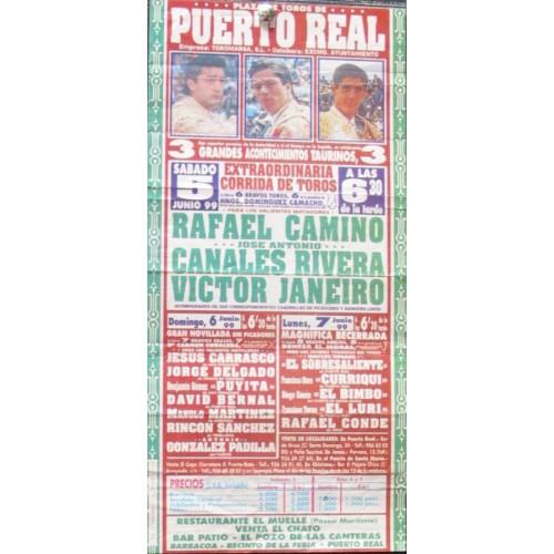 PLAZ DE TOROS DE PTO. REL.- 5 JUNIO 1999.- MED 15X30 CTM