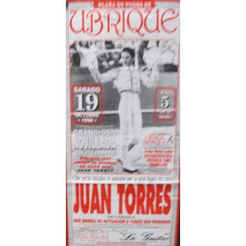 Plaza de Toros de Ubrique.- 19 0ctubre 1996.- med 20x 45 ctm