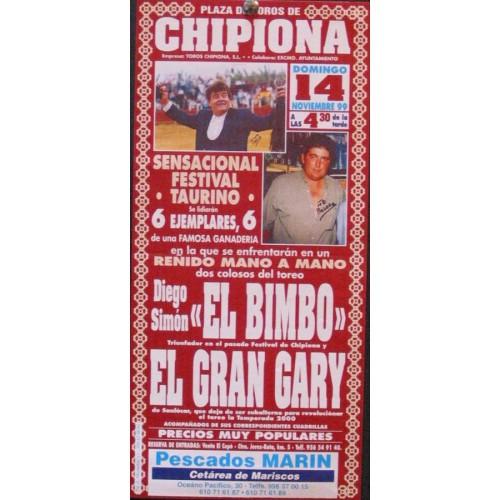 PLAZ DE TOROS DE CHIPIONA 14 NIVIEMBRE-19994- MED 15X30 CT