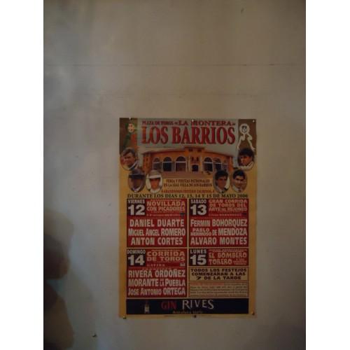 PLAZ DE TOROS DE LOS BARRIOS DEL 12 AL 15 -05-2000.- 65X45