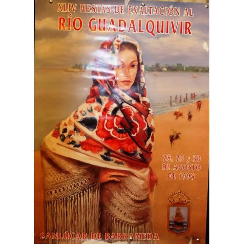 FIESTAS DEL GUADALQUIVIR AÑO 1988.- MED 50X70 CTM