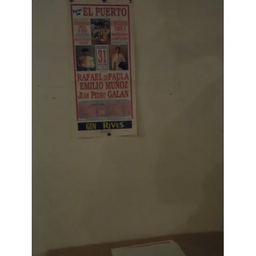 PLAZA DE TOROS DEL PTO. STA. MARIA.- 31-07-90.- MED 20X45 CTM