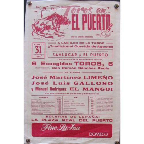 FIESTAS EXALTACION DEL GUADALQUIVIR.- AÑO 1990-.- me 50x70 ctm.-