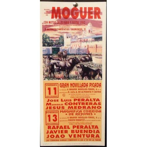 PLAZ DE TOROS DE MOGUER.- 11-9-92.- MED 17 X45 CYM