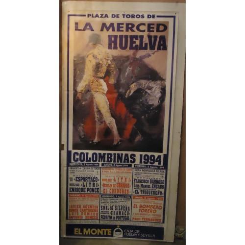 PLAZA DE TOROS DE HUELVA.- 03-09-94.- MED 90 X180 CTM