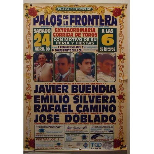 PLAZ DE TOROS DE PALOS DE LA FTRA.- 24-4-99.- MED50X70 CTM