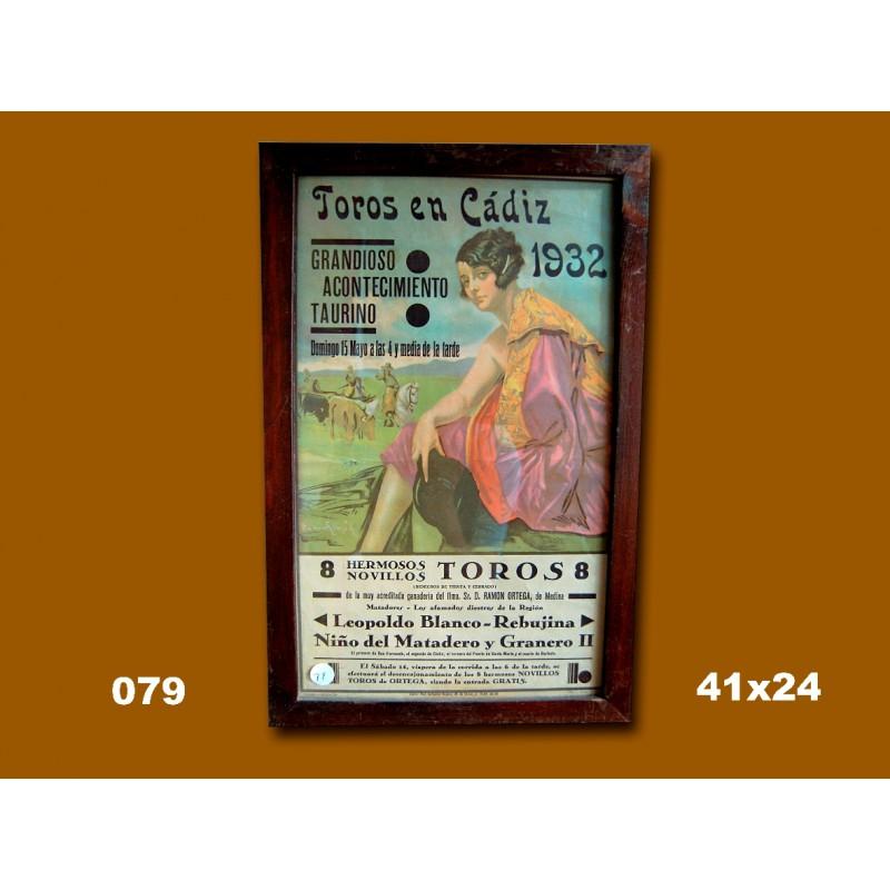 PLAZA DE TOROS DE CADIZ.- 1932