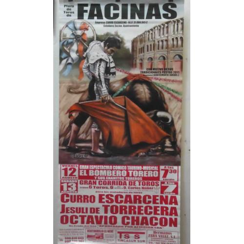 PLAZA TOROS FACINAS 13AGOSTO2011 MED190X90