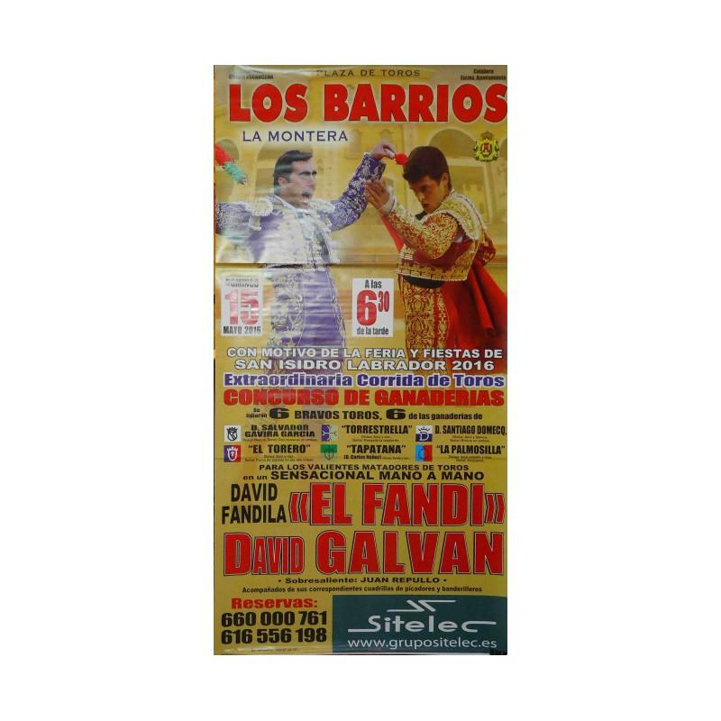 PLAZA TOROS LOS BARRIOS 15MAYO2016M190X90C