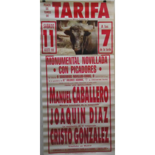 PLAZA TOROS TARIFA 11SEP1994 M190X90