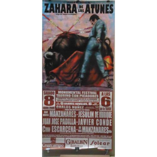 PLAZA TOROS ZAHARA DE LOS ATUNES 8ABRIL2006M190X90