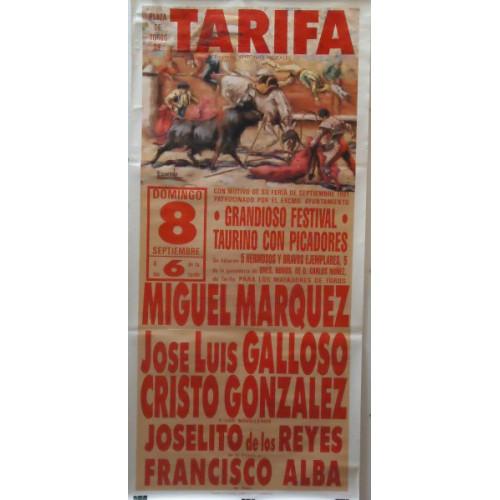 PLAZA TOROS TARIFA8SEPT1991 MED190X90C
