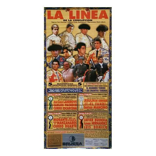PLAZA TOOS LALINEA 16-17-18 Y19JULIO2003M190X90C