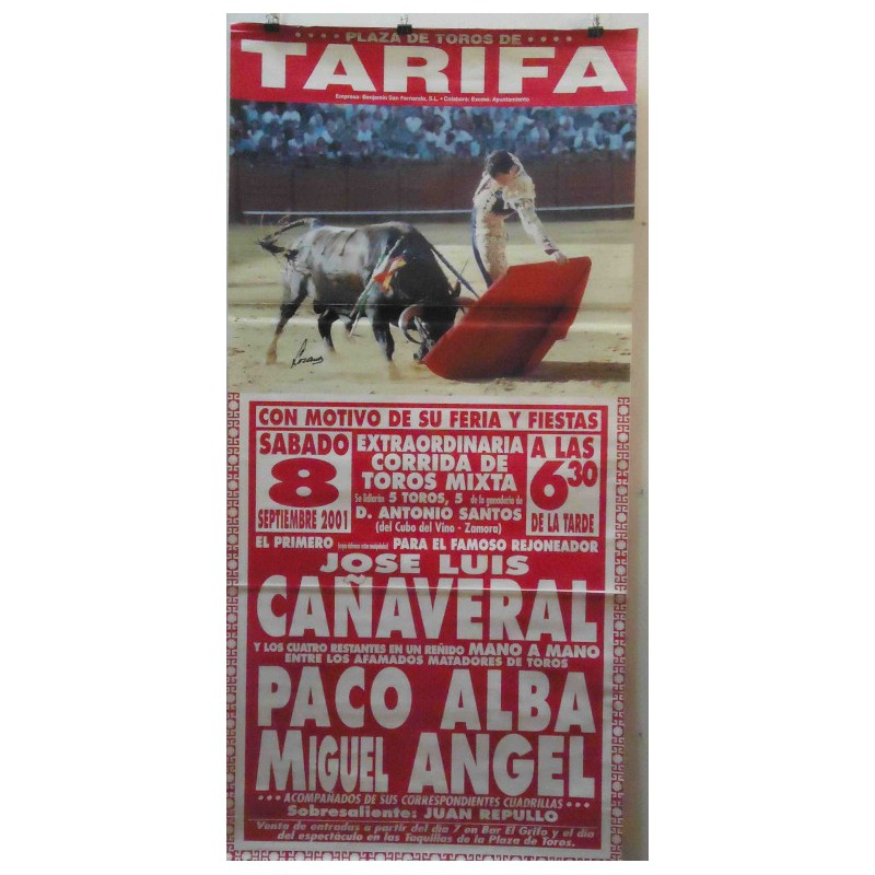 PLAZA TOROS TARIFA 8SEP2001ME190X90C