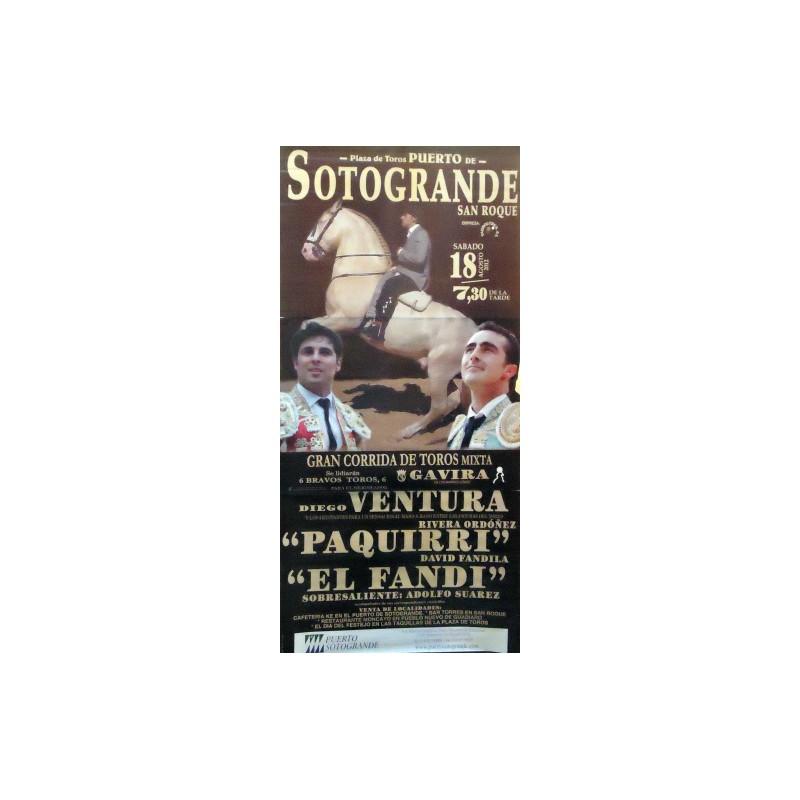 PLAZA TOROS SOTOGRANDE 18AGOS2012 M190X90