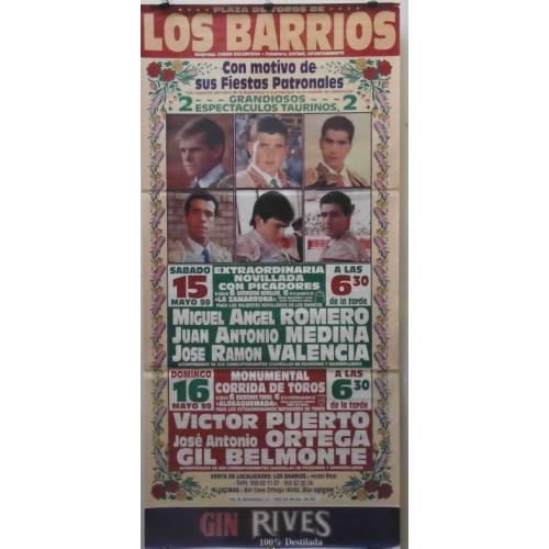 PLAZA TOROS LOS BARRIOS 15MAYO1999 ME190X90