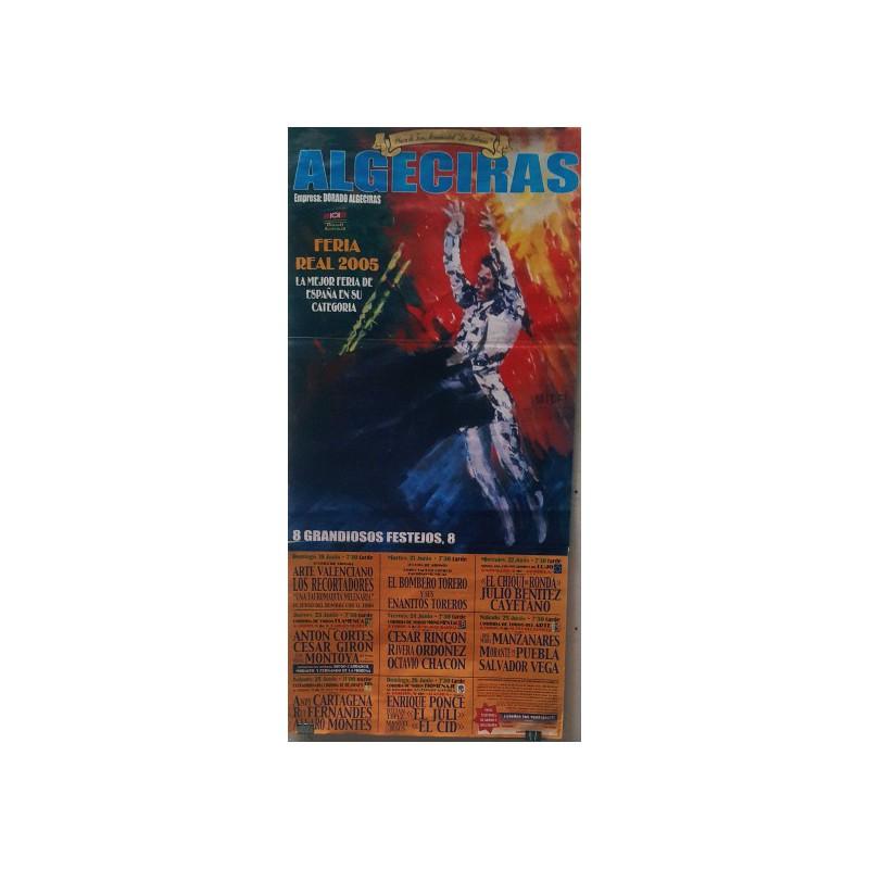 PLAZA TOROS ALGECIRAS 16AL26JUNIO2005ME190X90