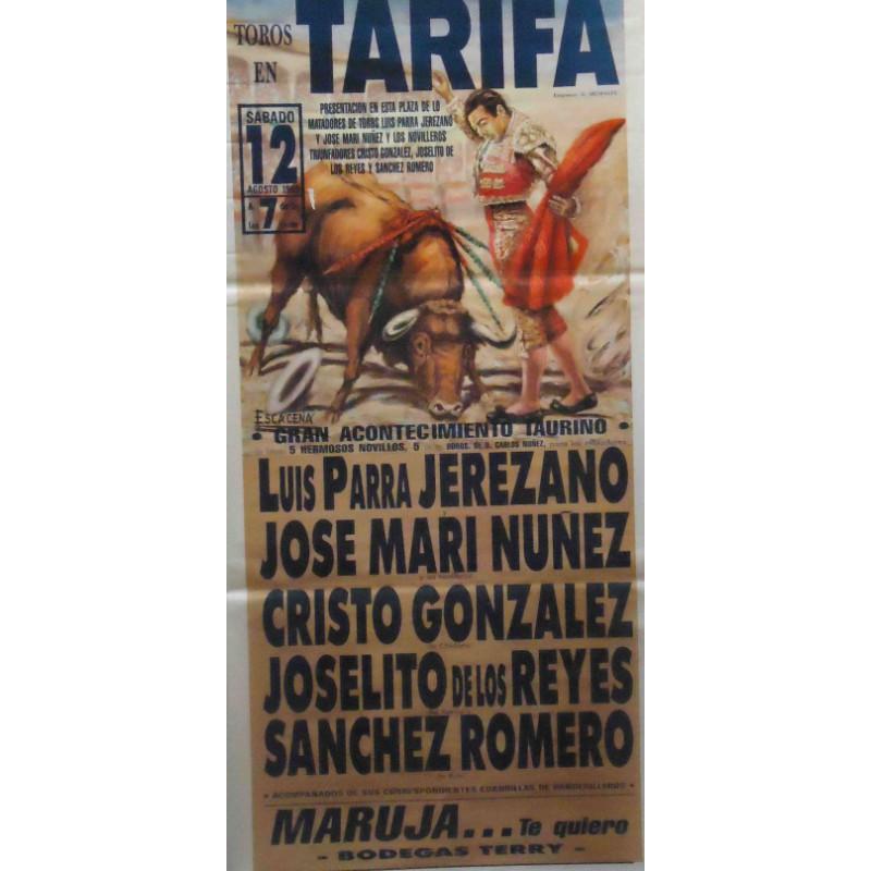 PLAZA TOROS TARIFA 12 AGOSTO1989 MED190X90