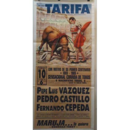 PLAZA TOROS TARIFA 10SEP1989 MED 190X90
