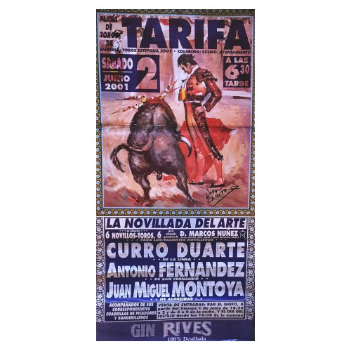 PLAZA TOROS TARIFA 2JUNIO2001 MED190X90C