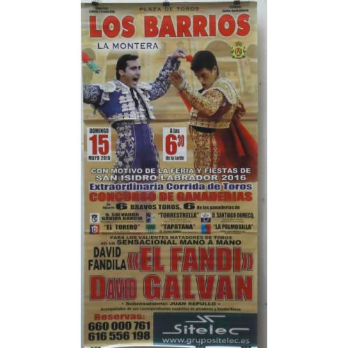 PLAZA TOROS LOS BARRIOS 15MAYO2015 ME190X90C