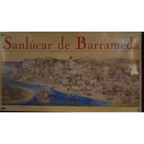 LAMINAS DE SANLUCAR DE BDA .- MED 55X 100 CTM.-. 2 UNID