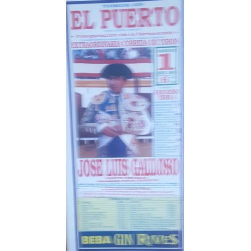 PLAZA DE TOROS PTO.STA MARIA 6/4/1990 ME22X45CTM
