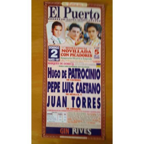 PLAZA DE TOROS PTO.STA MARIA 2/3/1997 M22X45CTM