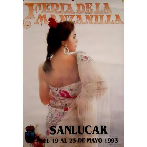 FERIA DE LA MANZANILLA.- AÑO 1993.- MED 70X 95 CTM            3UNID