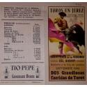 FOLLETO DE MANO JEREZ DE LA FRONTERA 1983 MED 15X16CTM