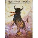 FOLLETO PLA DE TOROS DE SEVILL 1984 MED 16X23CTM