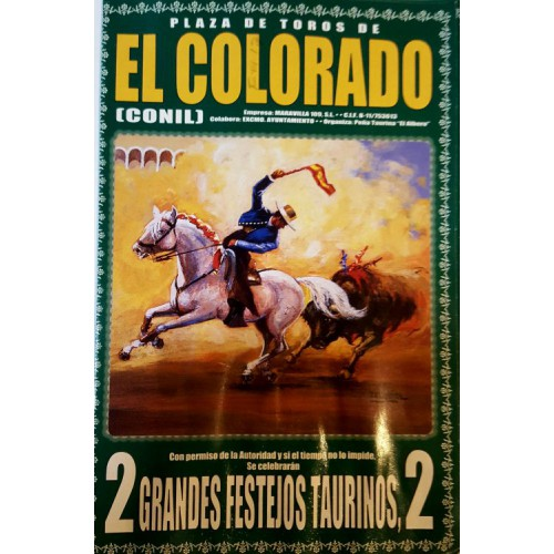 FOLLETO PLA DE TOROD EL COLORADO  9Y10 2007