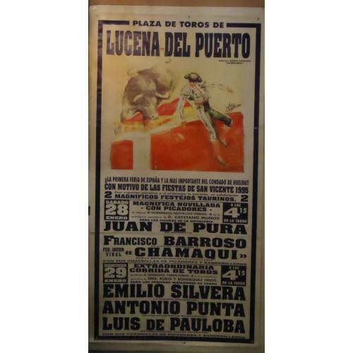 PLAZ DE TOROS DE LUCENA DEL PUERTO.--29-01-95-MED90X190