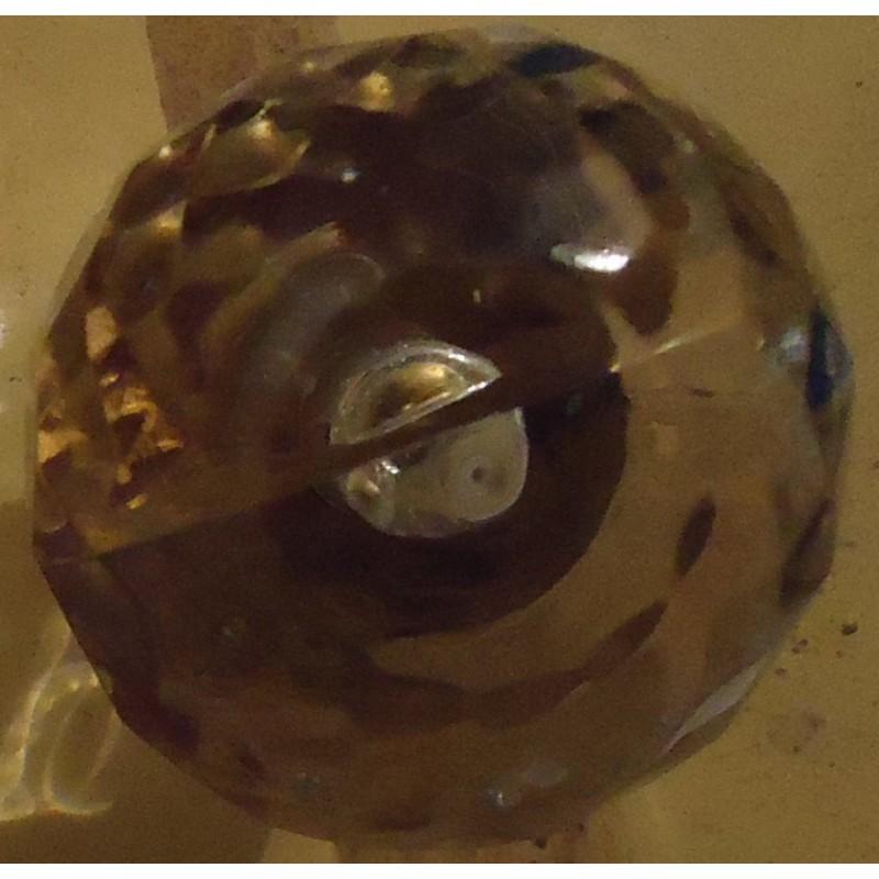 pomo de cristal  6 unid