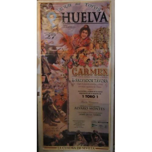PLAZ DE TOROS DE HUELVA.-27-08-99.- MED 90X180 CTM