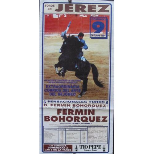 PLAZA DE TOROS DE JEREZ.- 09-10-1994.- MED 20X 42 CTM